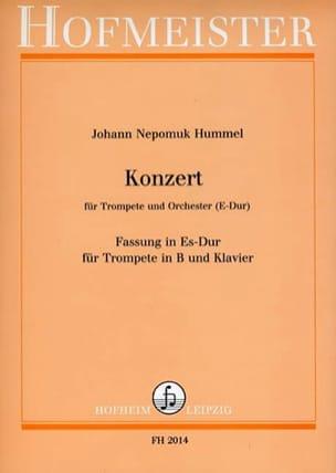 Johann Nepomuk Hummel - Konzert - Partition - di-arezzo.fr