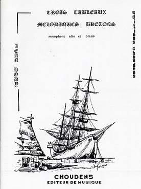 3 Tableaux Mélodiques Bretons - Jean Hody - laflutedepan.com