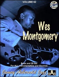 Volume 62 - Wes Montgomery METHODE AEBERSOLD Partition laflutedepan