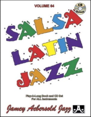 Volume 64 - Salsa Latin Jazz METHODE AEBERSOLD Partition laflutedepan