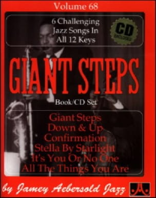 METHODE AEBERSOLD - Volume 68 - Giant Steps - Sheet Music - di-arezzo.co.uk