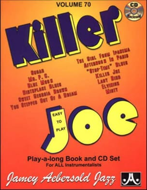 METHODE AEBERSOLD - Volume 70 - Killer Joe - Sheet Music - di-arezzo.co.uk