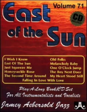 Volume 71 - East Of The Sun METHODE AEBERSOLD Partition laflutedepan