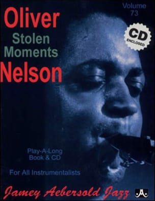 Nelson Oliver / Aebersold Jamey - Volume 73 - Stolen Moments - Partition - di-arezzo.fr