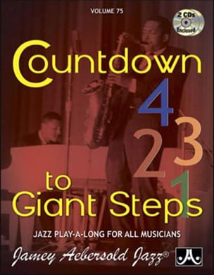 METHODE AEBERSOLD - Volume 75 with 2 CDs - Countdown To Giant Steps - Sheet Music - di-arezzo.co.uk