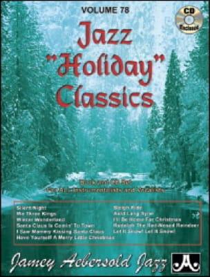 METHODE AEBERSOLD - Volume 78 - Jazz Holiday Classics - Sheet Music - di-arezzo.com