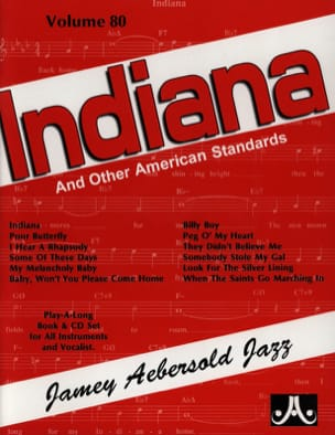 Volume 80 - Indiana - METHODE AEBERSOLD - Partition - laflutedepan.com