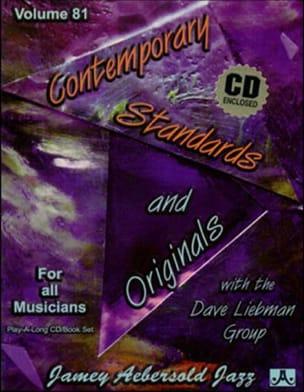 METHODE AEBERSOLD - Volume 81 - Contemporary Standards And Originals - Sheet Music - di-arezzo.co.uk