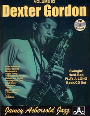 METHODE AEBERSOLD - Volume 82 - Dexter Gordon - Sheet Music - di-arezzo.co.uk