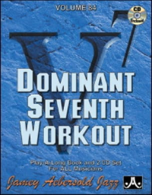 Volume 84 avec 2 CDs - Dominant Seventh Workout laflutedepan