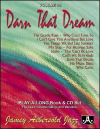 Volume 89 - Darn That Dream - METHODE AEBERSOLD - laflutedepan.com
