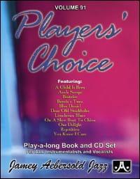 Volume 91 - Player's Choice - METHODE AEBERSOLD - laflutedepan.com
