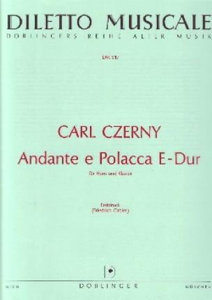 Carl Czerny - Andante E Polacca E-Dur - Partition - di-arezzo.fr