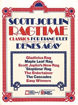 Scott Joplin - Ragtime Classics For Piano Duet - 4 Hands - Sheet Music - di-arezzo.com
