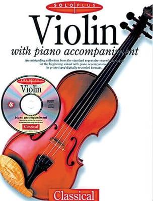 Solo Plus Classical Partition Violon - laflutedepan