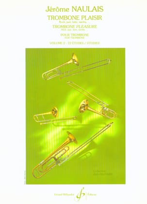 Jérôme Naulais - Trombone Pleasure Volume 2 - Sheet Music - di-arezzo.co.uk