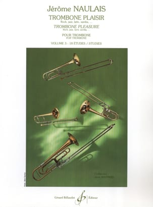 Jérôme Naulais - Trombone Pleasure Volume 3 - Sheet Music - di-arezzo.co.uk