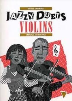 Jazzy Duets Violins Michael Radanovics Partition Violon - laflutedepan