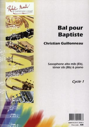 Christian Guillonneau - Ball For Baptist - Sheet Music - di-arezzo.com
