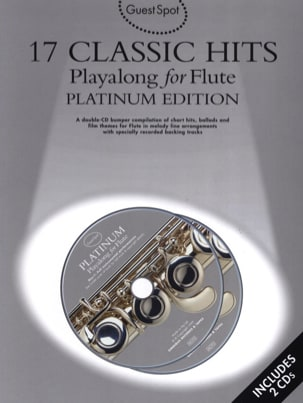 Guest Spot - 17 Classic Hits Playalong For Flute - laflutedepan.com