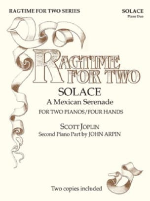 Scott Joplin - Ragtime For Two. 4 Hands - Sheet Music - di-arezzo.co.uk
