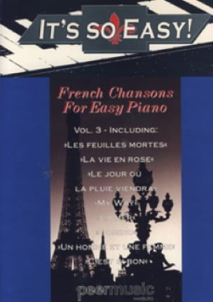 - It's so easy! Volume 3 - French songs for easy piano - Sheet Music - di-arezzo.co.uk