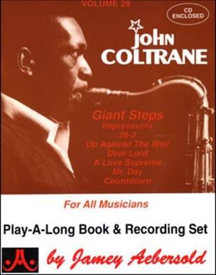 METHODE AEBERSOLD - Volume 28 - John Coltrane - Sheet Music - di-arezzo.co.uk