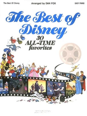 DISNEY - The Best Of Disney Easy Piano - Sheet Music - di-arezzo.co.uk