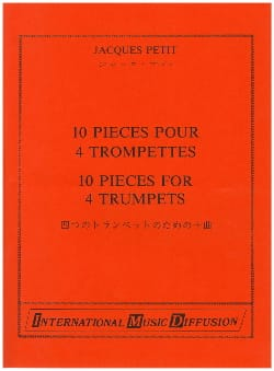 Jacques Petit - 10 pieces for 4 trumpets - Sheet Music - di-arezzo.com