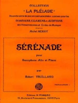 Robert Truillard - Sérénade - Partition - di-arezzo.fr
