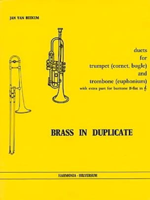Brass In Duplicate - Duets Partition laflutedepan