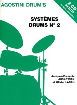 Juskowiak J.F. / Lacau O. - Drums systems N ° 2 - Sheet Music - di-arezzo.co.uk