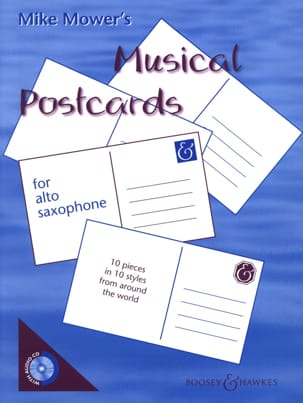 Mike Mower - Musical Postcards - Partition - di-arezzo.fr