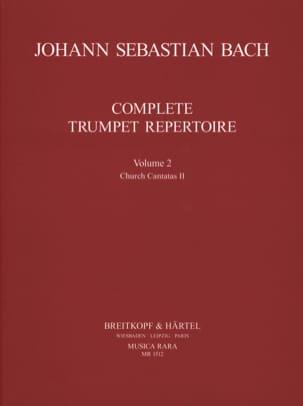 BACH - Complete Trumpet Repertoire Volume 2 - Sheet Music - di-arezzo.com