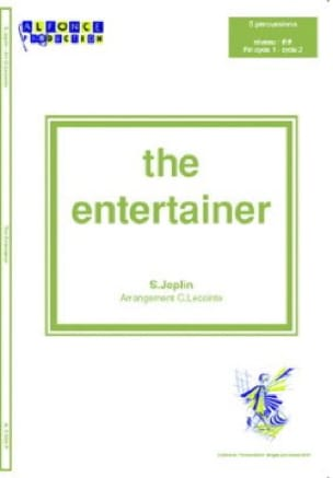 The Entertainer - JOPLIN - Partition - laflutedepan.com