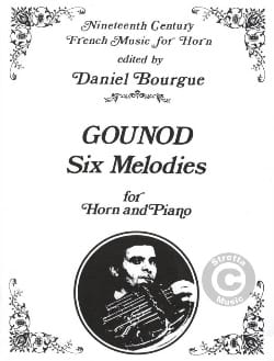 Charles Gounod - Six (6) Melodies - Partition - di-arezzo.fr