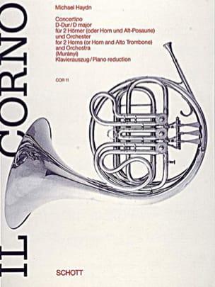 Concertino en Ré Majeur Michael Haydn Partition Cor - laflutedepan