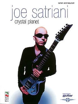 Crystal Planet Joe Satriani Partition Pop / Rock - laflutedepan