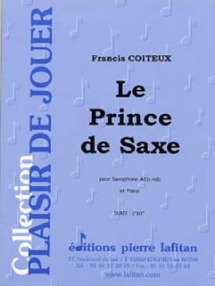 Francis Coiteux - Le Prince de Saxe - Partition - di-arezzo.fr