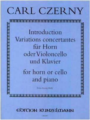Introduction Variations Concertantes - Carl Czerny - laflutedepan.com