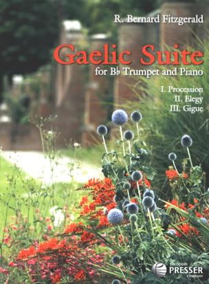 Gaelic Suite Bernard Fitzgerald Partition Trompette - laflutedepan