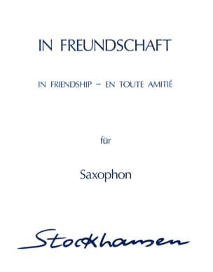 Karlheinz Stockhausen - In All Friendship In Freundschaft - Sheet Music - di-arezzo.co.uk