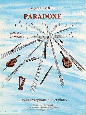 Jacques Devogel - Paradoxe - Partition - di-arezzo.fr
