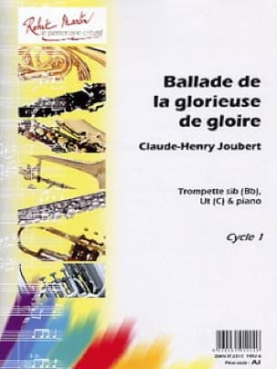 Claude-Henry Joubert - Ballad of the Glorious Glory - Sheet Music - di-arezzo.com