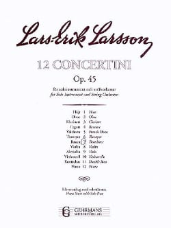 Lars-Erik Larsson - Concertino Opus 45 N ° 7 - Sheet Music - di-arezzo.co.uk