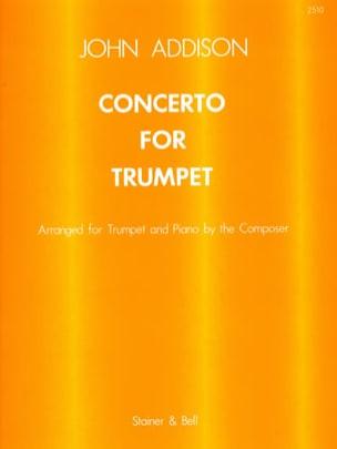 Concerto For Trumpet - John Addison - Partition - laflutedepan.com