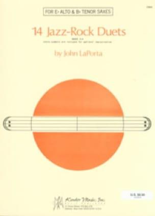 John Laporta - 14 Jazz-Rock Duets - Partition - di-arezzo.fr
