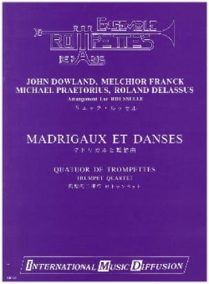 Madrigaux Et Danses Partition Trompette - laflutedepan