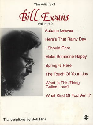 Bill Evans - The Artistry Of Bill Evans Volume 2 - Sheet Music - di-arezzo.co.uk