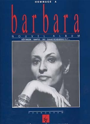 Barbara - Omaggio a Barbara - Partition - di-arezzo.it